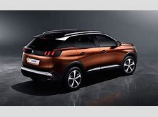 2017 Peugeot 3008 officially revealed; larger, SUV