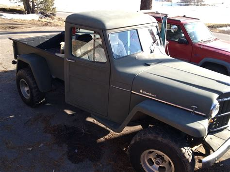classic willys pick  truck  sale  sale classic  willys  pickup truck  sale
