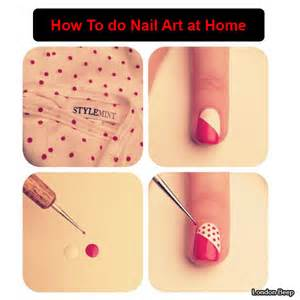 How to do nail art at home london beep
