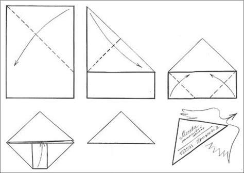 modele inedit en 8 lettres l astuce pour envoyer une lettre sans enveloppe pliage