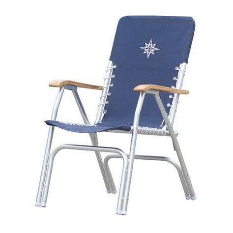 chaise bateau fauteuil pliant assise en toile accessoire bateau