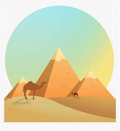 Pyramid Egypt Ancient Clip Egyptian Cartoon Kindpng