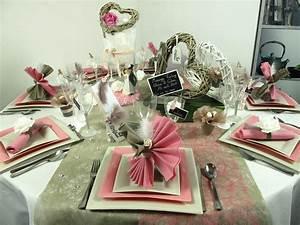 Decoration De Table De Mariage : d co de table pour un mariage vintage id es deco id f tes ~ Melissatoandfro.com Idées de Décoration