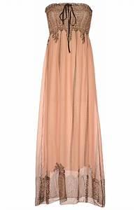 longue robe bustier rose avec motif vetement femme pas With robe longue pas cher femme