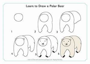 Learn to Draw a Polar Bear | How to draw | Pinterest ...