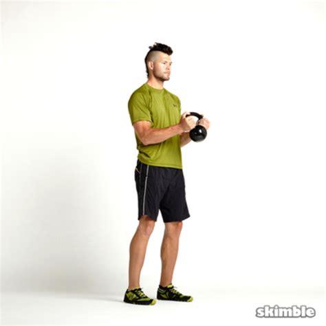kettlebell biceps workout curls hammer exercises exercise muscle curl kettlebells skimble workouts trainer