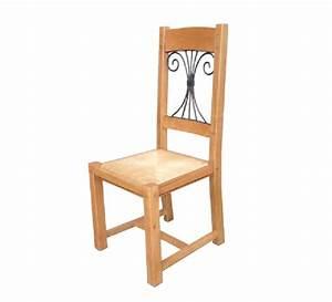 Chaise Chene Massif : chaise fer forg ch ne massif antique 1813 ~ Teatrodelosmanantiales.com Idées de Décoration