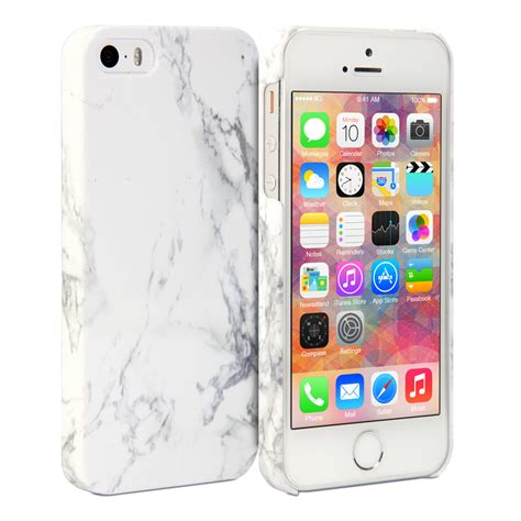 cases for iphone 5s iphone 5s cover print white marble