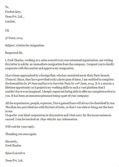 resignation letter template word resignation letters 35 free documents in word