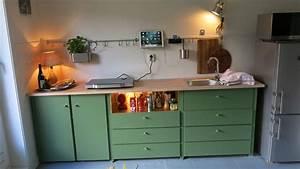 Küchenzeile Mit Elektrogeräten Und Geschirrspüler : kleine k chenzeile mit eingebauter sp le und mobilem ~ A.2002-acura-tl-radio.info Haus und Dekorationen