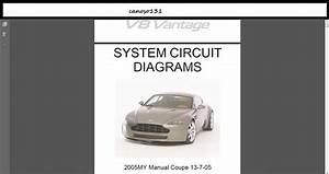 Wiring And  Diagrams Aston Martin V8 Vantage