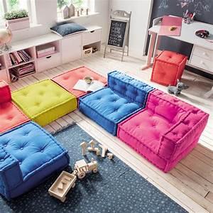 Großes Sofa Günstig : kindersofa kids cushion sofa element b bodenkissen 65x65cm g nstig online kaufen ~ Indierocktalk.com Haus und Dekorationen