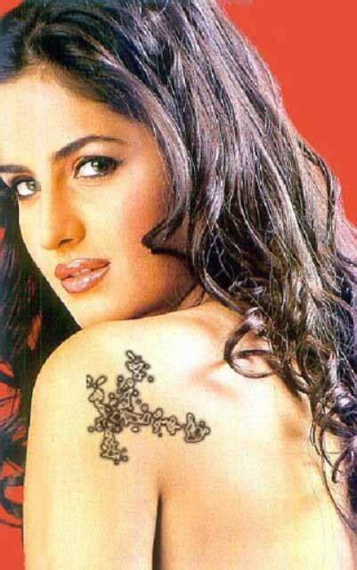bollywood stars tattoo trends footstep fashion