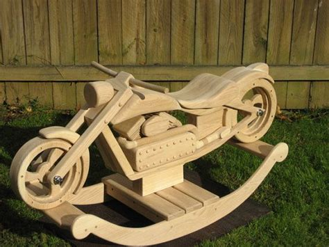 wooden rocking motorcycle plans woodworking projects plans