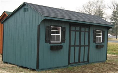 quaker wood shed kit