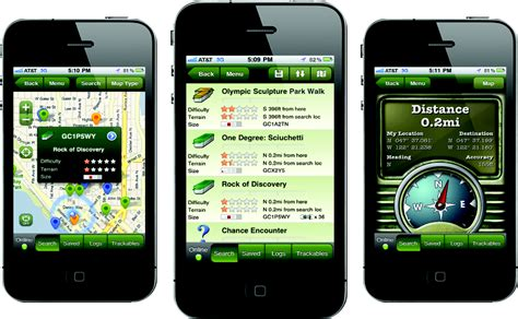 iphone apps for android caching box information about gps