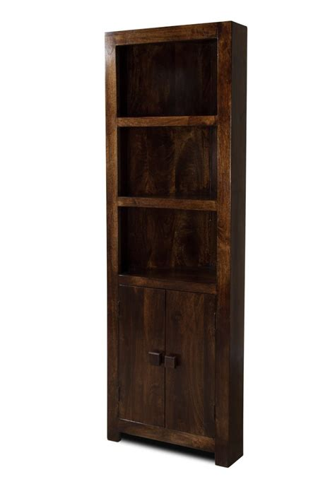 Corner Bookcase by Solid Mango Wood Corner Bookcase Casa Indian