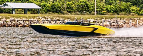 Lamborghini And Boat by The Lamborghini Boat Visual Imagination