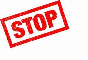 Stop, Stamp, Png, Transparent