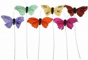 Schmetterlinge Als Deko : deko schmetterlinge farbmix 10 cm 6er set eur 3 49 ~ Lizthompson.info Haus und Dekorationen
