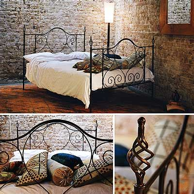redhouse bed frame  handforged wrough iron bed