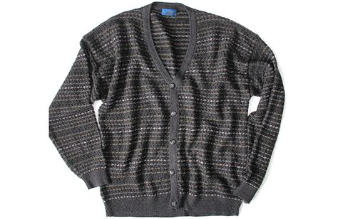Dad's Big Ugly Cardigan Tacky Ugly Lightweight Acrylic Sweater Men's Size Xl