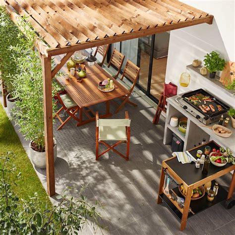 prix béton ciré plan de travail cuisine construire sa cuisine extérieure tous nos conseils avant de se lancer