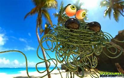 Spaghetti Monster Flying Wide Mobile