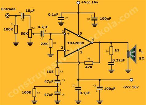 diagrama amplificador ideas  el hogar en