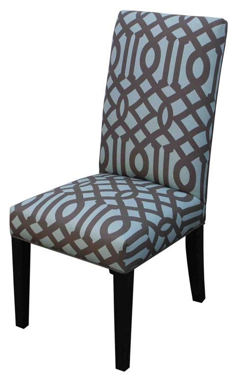 handmade contemporary custom upholstered dining chair
