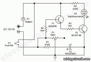 Timer Circuit Diagram