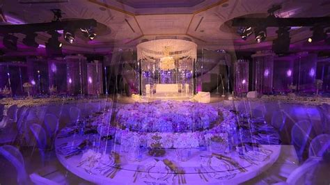 Royal Wedding Crystal Fairy Breath Theme In Habtoor Grand