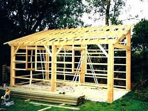 Construire Abri Bois. comment construire son abri de jardin en bois ...