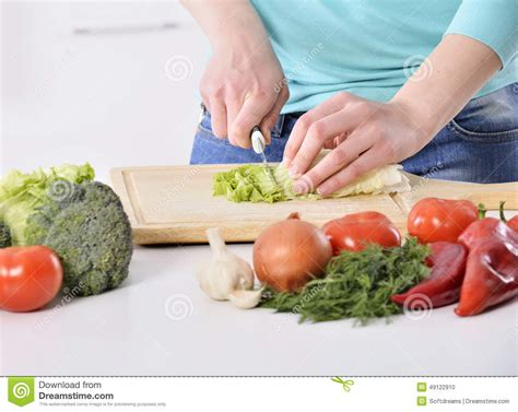 cuisine concept cooking in kitchen healthy food with