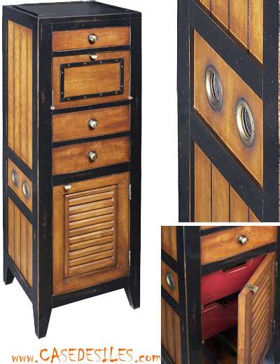 meuble de rangement bois marine meuble de rangement
