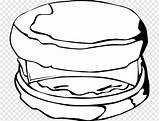 Muffin Coloring English Drawing Pngfuel Breakfast Cutout Clipart Clip sketch template