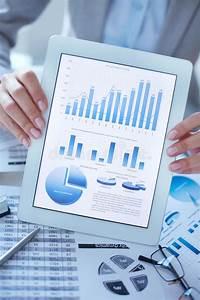 Digital Diagrams And Graphs Stock Image
