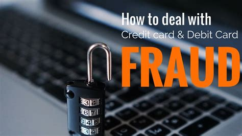 Check spelling or type a new query. How to deal with credit card and debit card fraud - YouTube