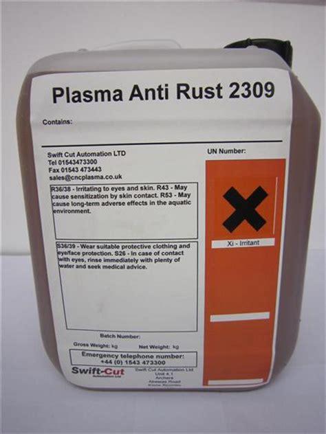 rust anti treatment swift cut 5ltr cutting steel