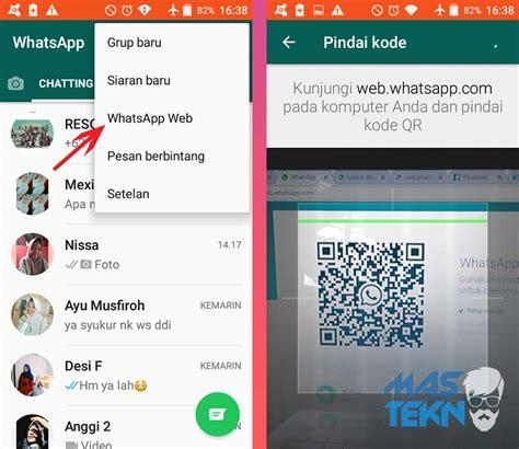 cara install dan menggunakan whatsapp di pc laptop tanpa