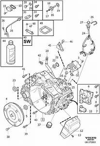 Volvo S80 Gasket  Gearbox  Automatic  Transmission