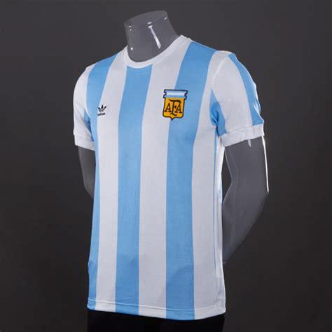 adidas originals afa retro shirt mens select clothing argentina blue white vapour