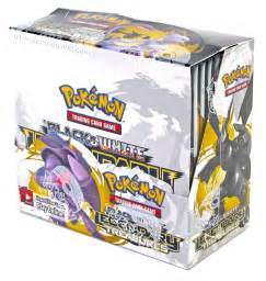 pokemon black white legendary treasures booster box