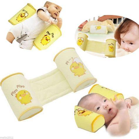 baby anti roll pillow sleep positioner baby infant newborn sleep positioner prevent flat