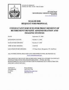 SEALED BID REQUEST FOR PROPOSAL CONSULTANT SERVICES FOR