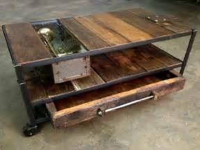 Wheeled Coffee Table