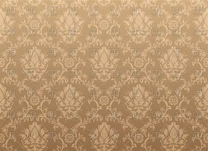 Classic Victorian Seamless Pattern Antique Brown Vector