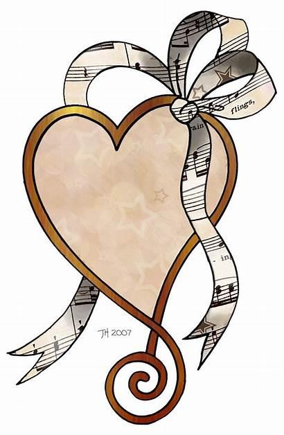 Clipart Heart Sheet Clip Decoupage Prints Hearts