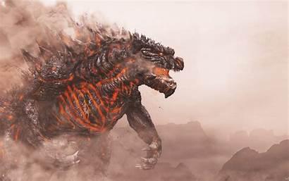 Godzilla 4k Fire King Monster Wallpapers Artwork