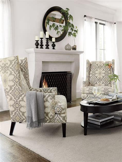 Living Room Chair For Back by Luxe High Wing Back Chair Living Rooms Luxury Office